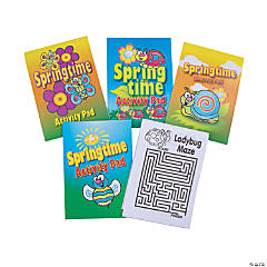 Paper Springtime Activity Pads PDQ