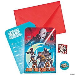 Paper Star Wars Rebels™ Invitations