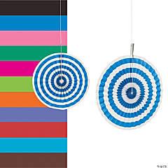 Paper Stripe Hanging Fans