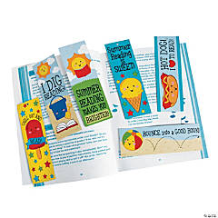 Paper Summer Reading Bookmarks