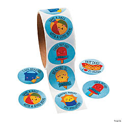 Paper Summer Reading Stickers