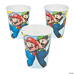 Paper Super Mario Brothers™ 9 oz. Cups