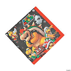 Paper Super Mario Brothers™ Luncheon Napkins