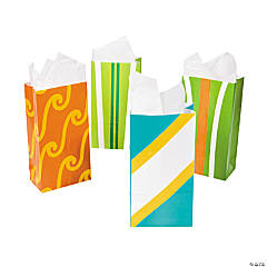 Paper Surf's Up Treat Bags