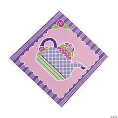 Paper Tea Party Beverage Napkins