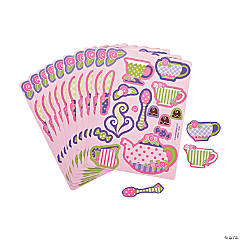 Paper Tea Party Sticker Sheets