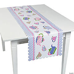 Paper Tea Party Table Runner