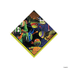 Paper Teenage Mutant Ninja Turtles Beverage Napkins