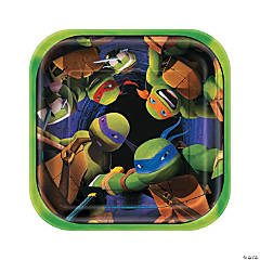 Paper Teenage Mutant Ninja Turtles Dessert Plates