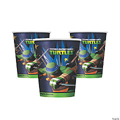 Paper Teenage Mutant Ninja Turtles Party Cups