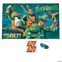 Paper Teenage Mutant Ninja Turtles Party Game