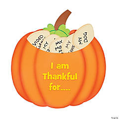 Paper Thankful Pumpkin Craft Kit