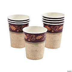 Paper Thanksgiving Turkey Cups