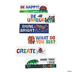 Paper The World of Eric Carle™ Motivational Bookmark Assortment