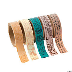 Paper Travel Washi Tape Set