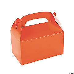 Paper Treat Boxes - Orange