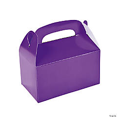 Paper Treat Boxes - Purple
