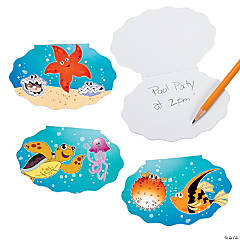 Paper Tropical Sea Life Notepads