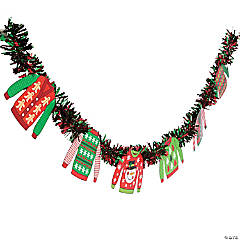 Paper Ugly Sweater Garland