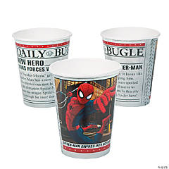Paper Ultimate Spider-Man Cups