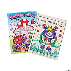 Paper Valentine Picture Find Activity Books