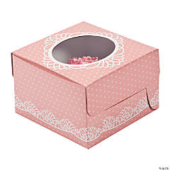 Paper Vintage Collection Cupcake Boxes