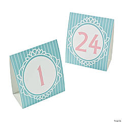 Paper Vintage Collection Table Tent Cards