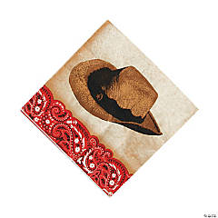 Paper Western Luncheon Napkins