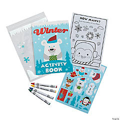 Paper Winter Stationery Sets