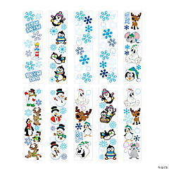 Paper Winter Sticker Assortment