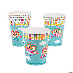 Paper You're A Hoot Cups