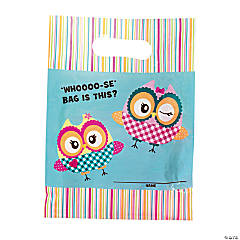 Paper You're A Hoot Treat Bags