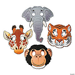 Paper Zoo Animal Masks