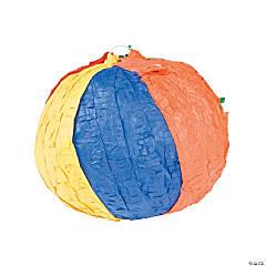 Papier-Mâché Beach Ball Piñata