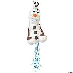 Papier-Mâché Disney's Frozen Olaf 3D Pull-String Piñata
