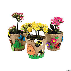 Papier-Mâché Garden Pot Craft Kit