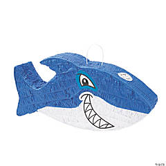 Papier-mâché Jawsome Shark Piñata