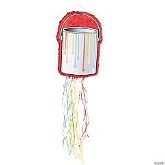 Papier-Mâché Little Artist Pull-String Piñata