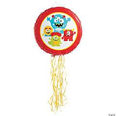 Papier-Mâché Mini Monster Pull-String Piñata