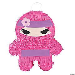 Papier-Mâché Ninja Girl Pinata