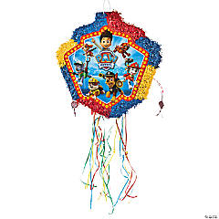 Papier-mâché Paw Patrol Pull-String Piñata