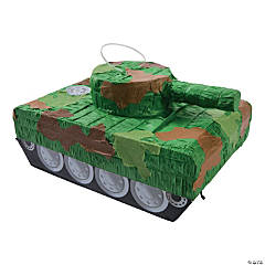 Papier-Mâché Tank Piñata