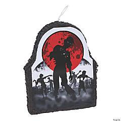 Papier-mâché Zombie Piñata