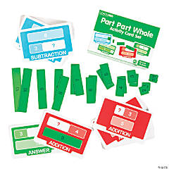 Part Part Whole Activity Card Set