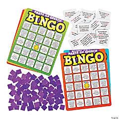 Parts of Speech Premium Bingo