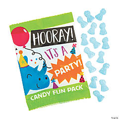 Party Animal Candy Fun Packs