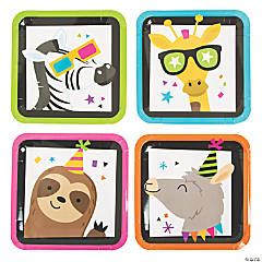 Party Animal Paper Dinner Plates - 8 Ct.