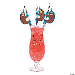 Party Animal Paper Straws