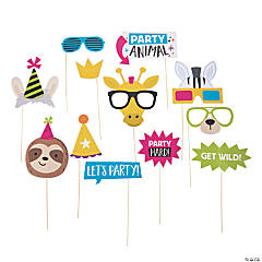 Party Animal Photo Stick Props