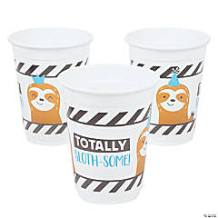 Party Animal Plastic Cups